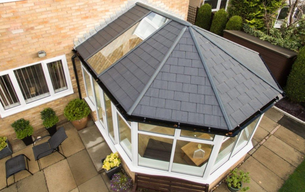 Tiled roof conservatory